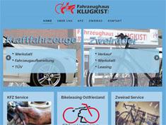 Fahrzeughaus Klugkist Relaunch